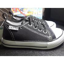 Zapatos Tenis Para Bebe Color Negro