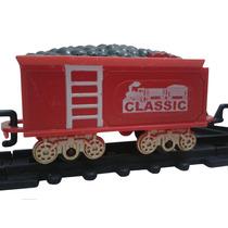 Brinquedo Trem Elétrico Movido Á Pilha Infantil Crianças