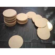Circulos 9cm En Fibrofácil 3mm X 100 Unidades