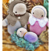 Navidad Pesebre Crochet