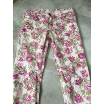 Pantalón Chupin Nenas Flores Cheeky Talle14