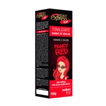 Tonalizante Color Express Fun Fancy Red 100g Salon Line