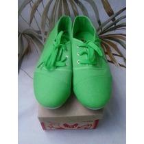 Zapatos Aussie Talla 39 Verde Dama Niña