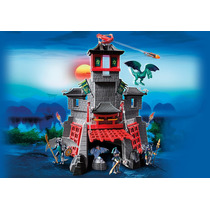 Playmobil 5480 Castillo Del Dragon Ogro O Carreta Gratis.