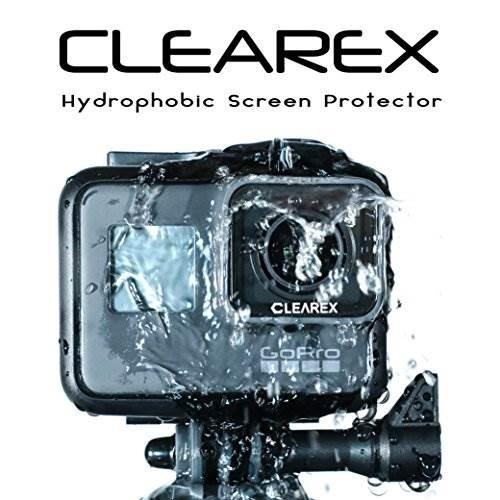 d0fa29c6a Protector De Pantalla Hidrofóbico Clearex Para Gopro Hero 7 - $ 103.637 en Mercado  Libre