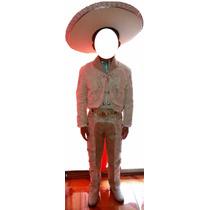 Traje Charro Niño Talla 10 (acepto Mercado Pago Y Oxxo)