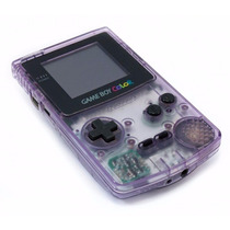 Game Boy Color Atomic Purple Zero Novo