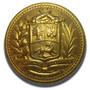 Botón De Gala Militar Dorado Con Escudo De Venezuela -23 Mm.