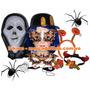 Hora Loca Halloween Combo Fiesta Boda 20 Piezas-10 Personas