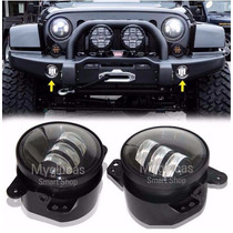 Faros Led Niebla Jeep Wrangler Jk Chrysler Charger Jurney