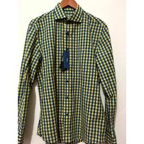Harmont & Blaine Camisa Talla Xl Corte Ajustado (slim Fit)