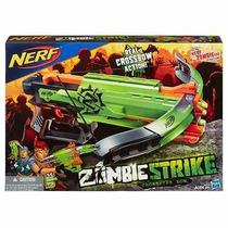 Nerf Crossfire Bow Ballesta Zombie Strike 22m Hasbro
