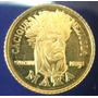 Moneda De Oro Cacique Mara 1.5gr 22k Caciques De Venezuela