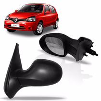 Retrovisor Clio Renault 2012 2013 2014 2015 Manual Esquerdo