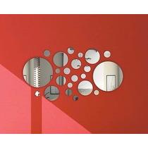 Espelho Decorativo - Conjunto Bolas/círculos 21 Peças Ps C2