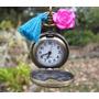 Collares Mujer Reloj Vintage Tipo Relicario Joyas De Moda