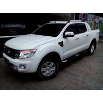 Ford Ranger Limited Plus 2014 Branca 4x4 Diesel Automático