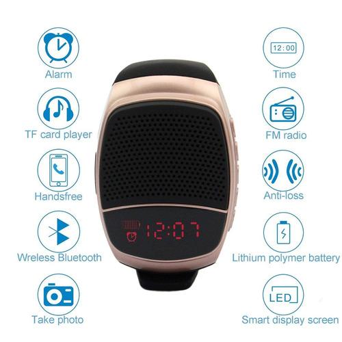 70fccd0b8906 Reloj Bluetooth Altavoz Teléfono Reproductor De Música Al... -   17.777 en Mercado  Libre