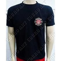 Camiseta Bombeiro Civil - Preta - Brasão