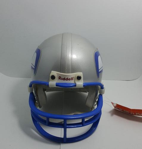 814d49236b5c0 Mini Capacete Futebol Americano Nfl - Seattle Seahawks Prata - R  100