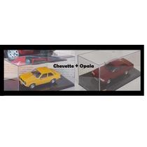 Miniatura Chevette Bicudo + Opala Diplomata 1/43