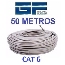 Cable Utp Cat 6 50 Metros Marca Wireplus Testeado