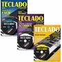 Curso Completo De Teclado Musical 3 Revistas 3 Dvds Minuano
