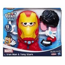 Senhor Cabeça De Batata Marvel Homem De Ferro E Tony Stark -