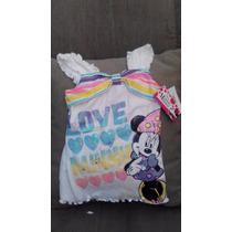 Franelas Blusas Disney Original Frozen Minnie Mouse