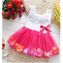Bello Vestido Importado Para Niña En Chifon