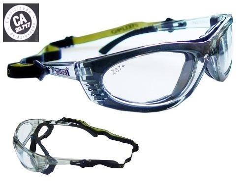 ab70aad0b5d8a Óculos De Proteção P  Lentes De Grau - Esportivo - R  89,90 em Mercado Livre
