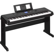 Piano Dgx-660 Yamaha Piano Digital 88 Teclas + Adaptador
