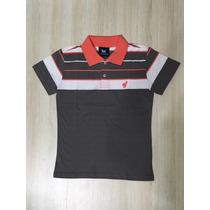 Kit Camisa Polo Infantil Do 10 Ao 18 Anos Conf Foto