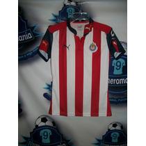 Jersey Oficial Original Puma Chivas Guadalajara Dama 16-17