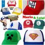 Gorra Trucker Pokemon,duff, Mario Y Luigi, Superman. Gravity