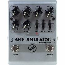 Pedal Nig As1 Amp Simulator P/ Guitarra Baixo Simulador Amp