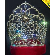 Corona Para Reina De Carnaval Patría Belleza Envío Gratis