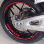 Friso Refletivo Adesivo Roda Interno Moto Honda Cbr 600 Rr