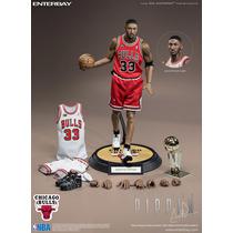 Hot Enterbay Scottie Pippen Nba Chicago Bulls 1/6 Nuevo Toys
