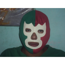 Mascara Tricolor Blue Demon Economicas Lucha Libre P/adulto