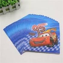 Servilletas X 10 Mickey Minnie Frozen Sofia Cars Toy Story