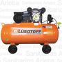Compresor De Aire Bicilindrico Lc30150 150 Lts 3hp Lusqtoff