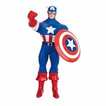 Boneco Capitão América Gigante 55 Cm- Marvel Mimo(53675)