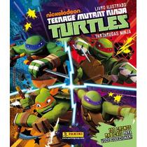 Tartarugas Ninja Lote 50 Figurinhas S/ Repetição Sem Album