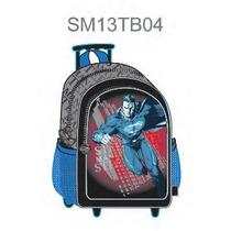 Mochila Backpack Man Of Steel Superman