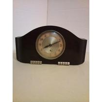 Antiguo Reloj De Mesa Francés Art Decó De Baquelita. Reparar