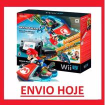 Console Nintendo Wii U Mario Kart 8 Deluxe Set 32gb
