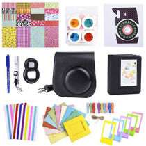 Kit De Accesorios Fujifilm Instax Mini 8 Funda Album - Negro