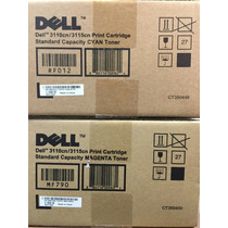 Toner Dell 3110cn 3115cn Ct350455 Yellow High Capacity