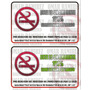 Aviso No Fumar Vinil